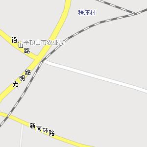 平顶山市湛河区马庄街道地图