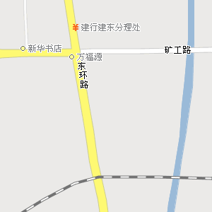 平顶山市卫东区东安路街道地图