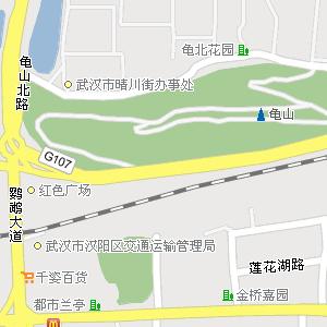 武汉市硚口区汉正街街道地图