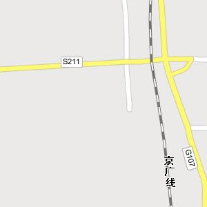省邯郸市永年县公路电子地图