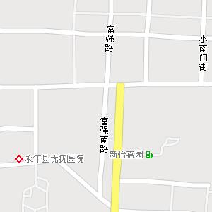 河北邯郸永年地图,河北永年电子地图