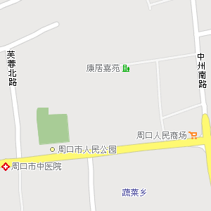 郸城县地图 淮阳县地图