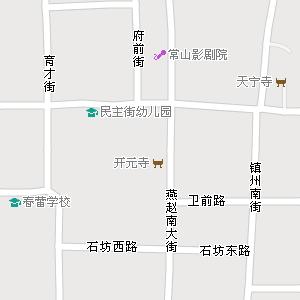 市正定县地图,正定县电子地图