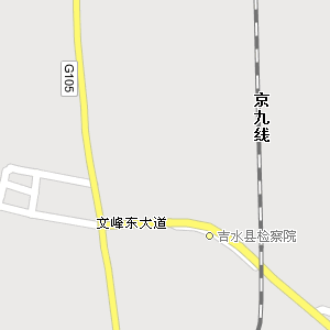 江西吉安吉水地图,江西吉水电子地图