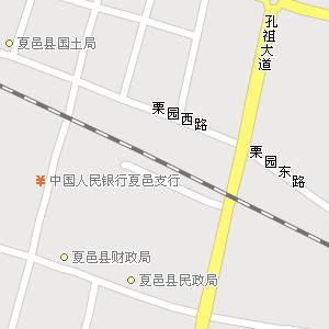 河南商丘夏邑地图图片大全 夏邑旅游地图