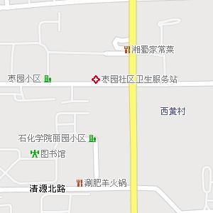大兴区黄村地区(黄村镇)地图