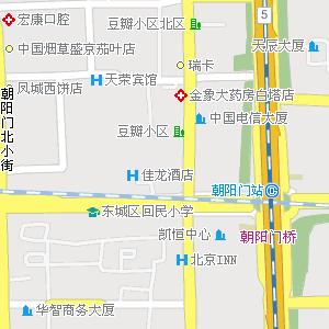北京朝阳地图,北京朝阳电子地图