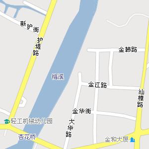 广东省汕头市金平区地图