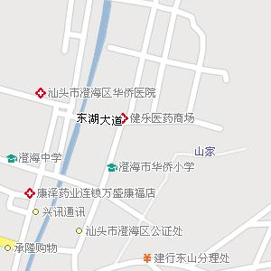 广东汕头澄海地图,广东澄海电子地图