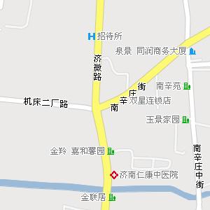 槐荫区-吴家堡镇交通地图