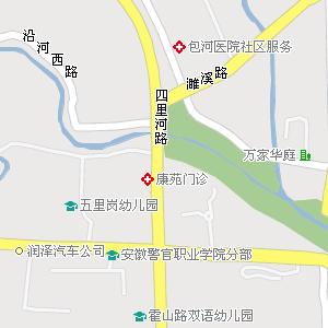 葫芦岛街道地形图展示