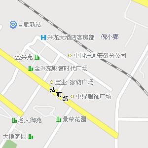 合肥市瑶海区方庙街道地图
