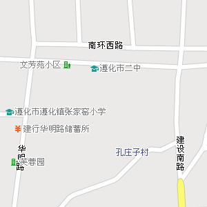 河北省唐山市遵化市地图