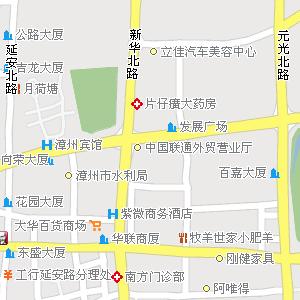 漳州芗城区地图
