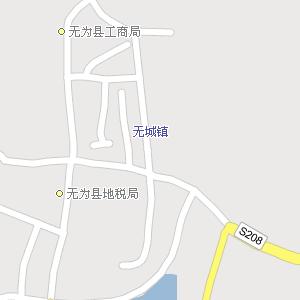 安徽巢湖无为地图,安徽无为电