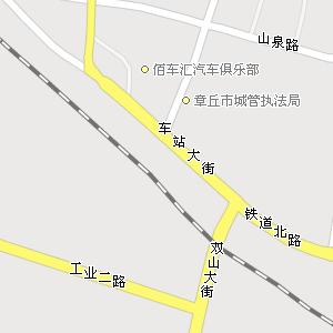 山东省济南市章丘市地图,章丘