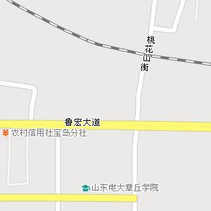 山东省济南市章丘市地图