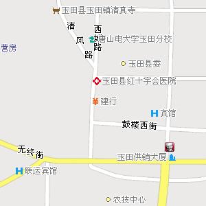 河北唐山玉田地图,河北玉田电子地图