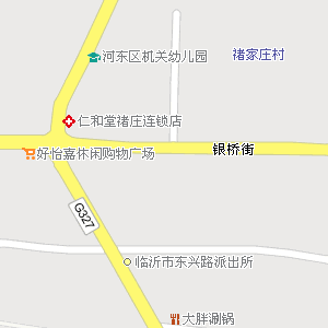 临沂市河东区九曲街道地图