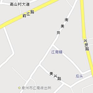 泉州市鲤城区金龙街道地图