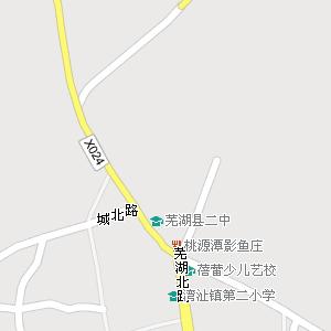 安徽省芜湖市芜湖县地图