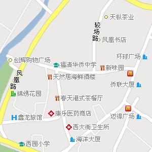 福建省福州市福清市地图图片