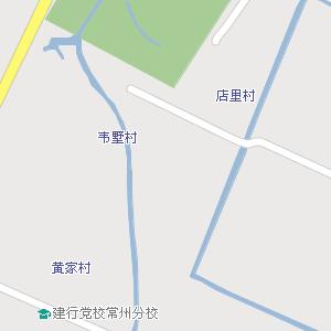 江苏省常州市钟楼区地图