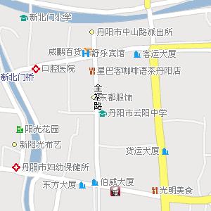江苏省镇江市丹阳市地图