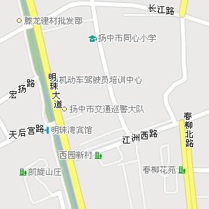 江苏省镇江市扬中市地图
