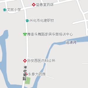 江苏泰州兴化地图,江苏兴化电子地图