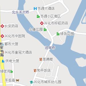 江苏泰州兴化地图,江苏兴化电