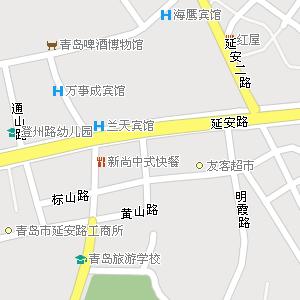 青岛市市北区大港街道地图