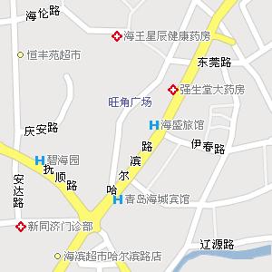 山东青岛地图,山东青岛电子地图