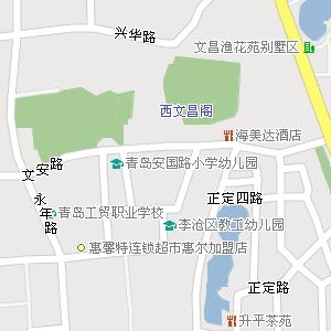 青岛市李沧区永清路街道地图图片