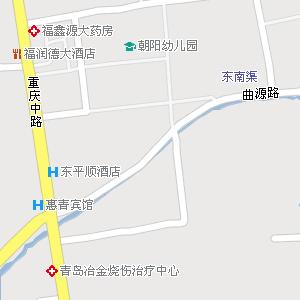 青岛市李沧区楼山街道地图图片