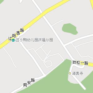 青岛市市北区洪山坡街道地图