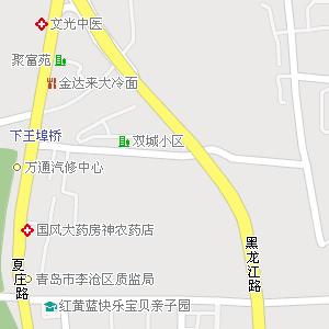 青岛市李沧区李村街道地图图片