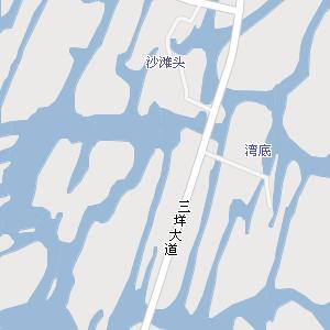 温州市瓯海区三垟街道地图