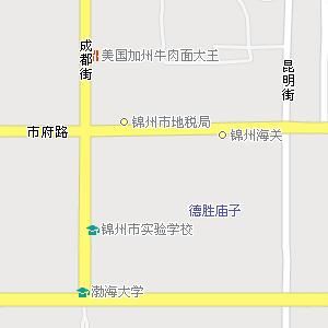 锦州市太和区凌西街道地图