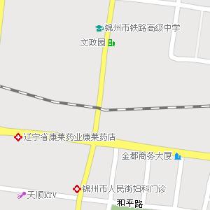 锦州市古塔区天安街道地图