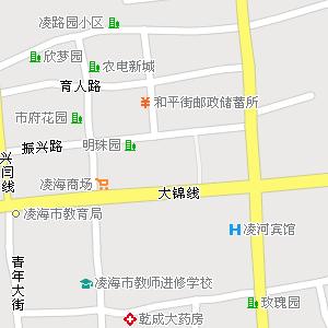 辽宁锦州凌海地图,辽宁凌海电子地图