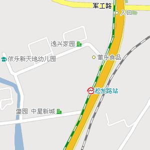 上海市电子地图 宝山区地图