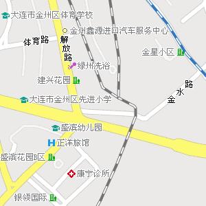 辽宁省大连市金州区地图