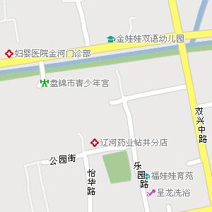 盘锦市兴隆台区茨采街道地图