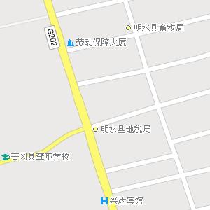 黑龙江绥化明水地图,黑龙江明水电子地图