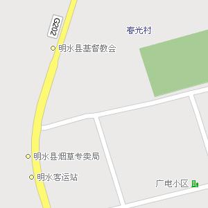 黑龙江省绥化市明水县地图,明