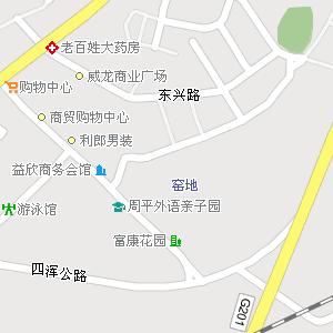 通化市二道江区东通化街道地图图片