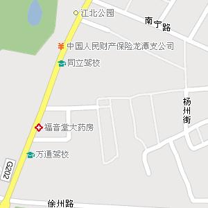 吉林市龙潭区新吉林街道地图