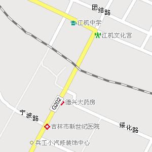 吉林市龙潭区汉阳街道地图