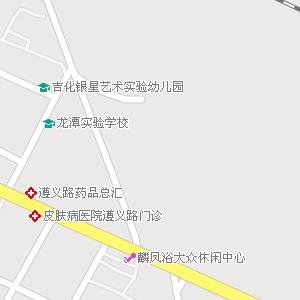 吉林省吉林市龙潭区地图